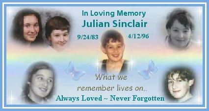 In Loving Memory of Julian Sinclair