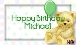 Happy birthday michael on valentines day so again i say happy birthday michael but again i cant send you a card or do any of those human birthday things my heart yearns to do m4hsunfo