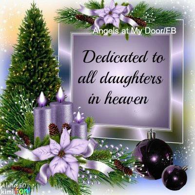 twas the night before christmas for bereaved parents - Merry Christmas In Heaven